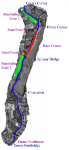 Sprints Marshalling Map